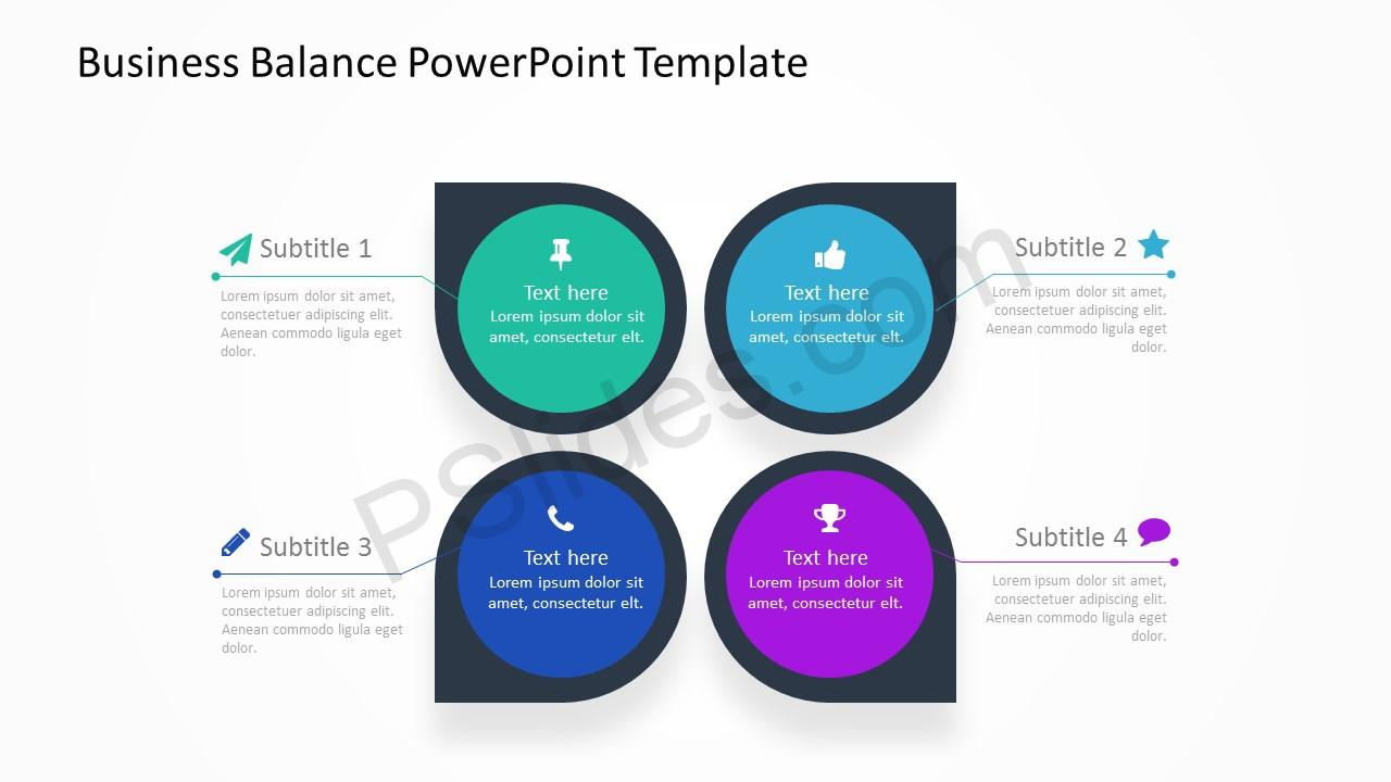 Business Balance PowerPoint Template 1