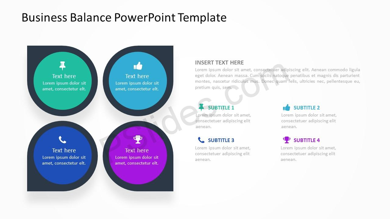 Business Balance PowerPoint Template 2