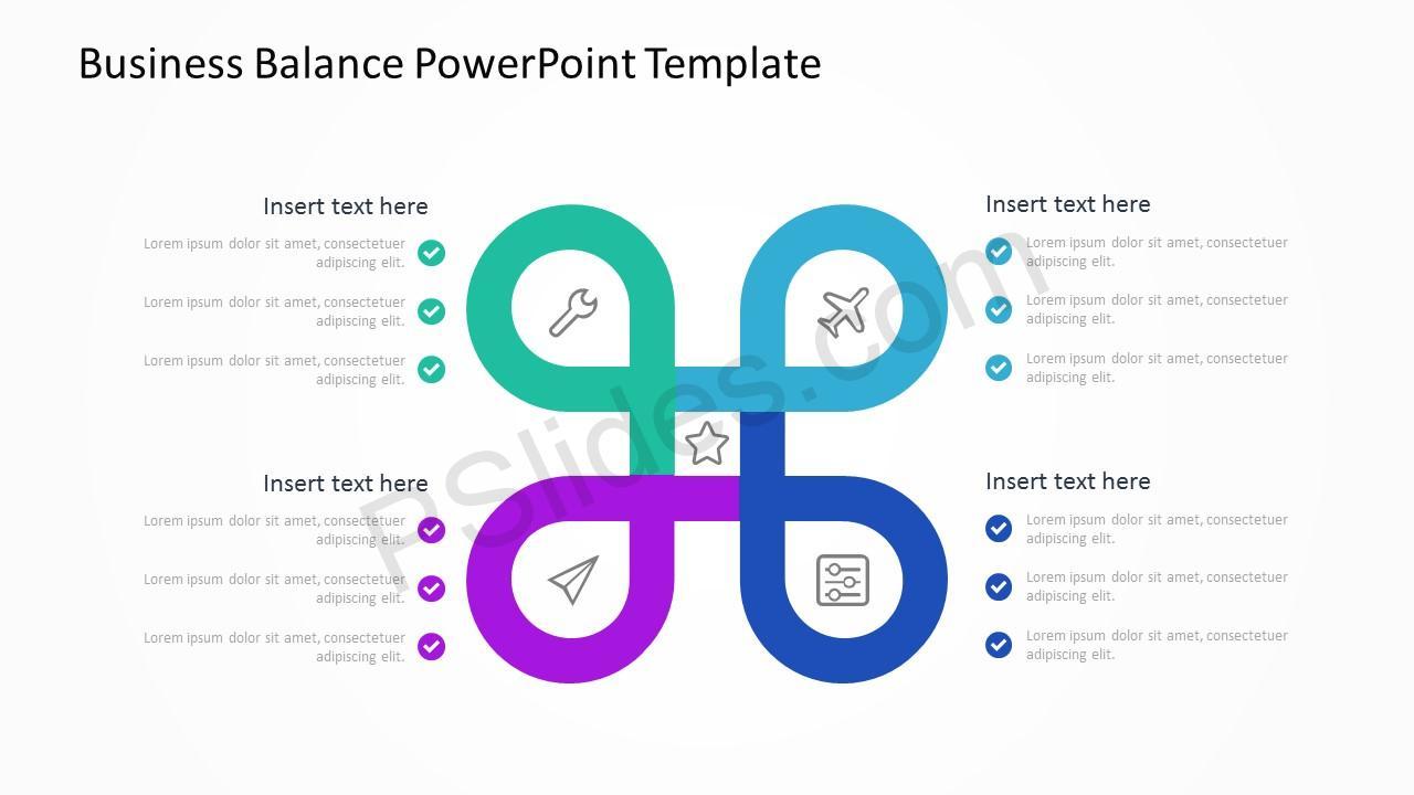 Business Balance PowerPoint Template 3