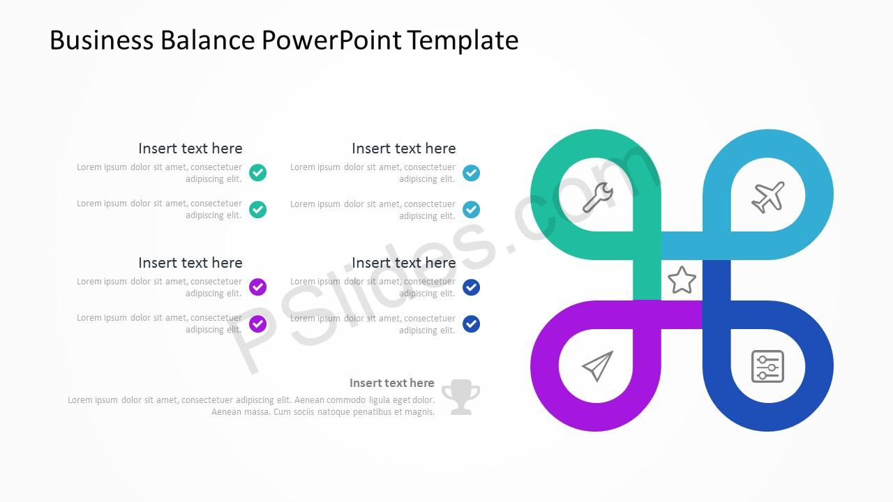 Business Balance PowerPoint Template 4