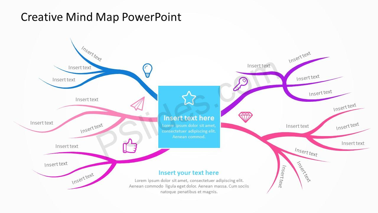 Creative Mind Map PowerPoint 4
