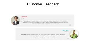 Free Customer Feedback PowerPoint Template