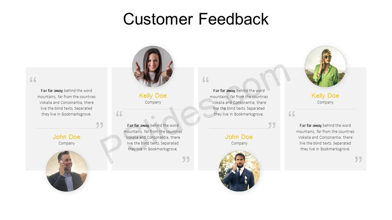 Customer Feedback PowerPoint Template 2