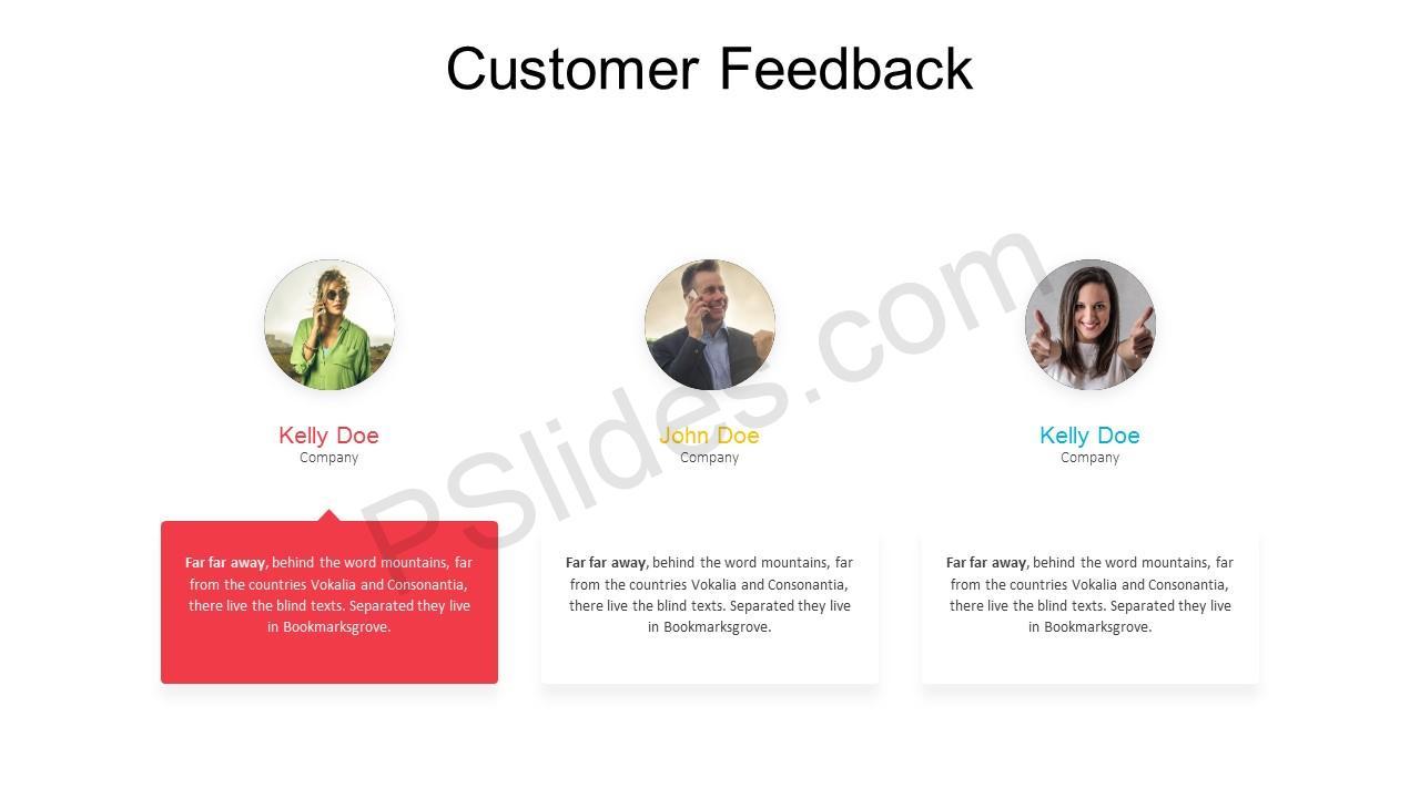 Customer Feedback PowerPoint Template 3