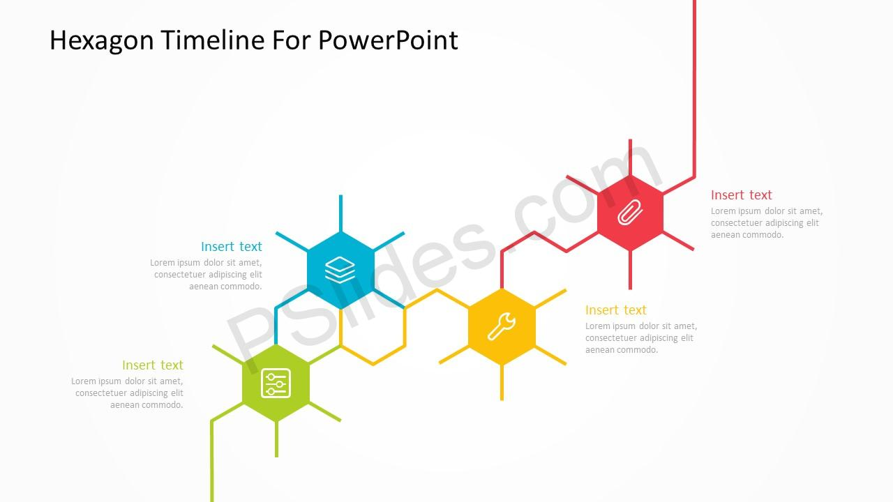 Hexagon Timeline For PowerPoint 2
