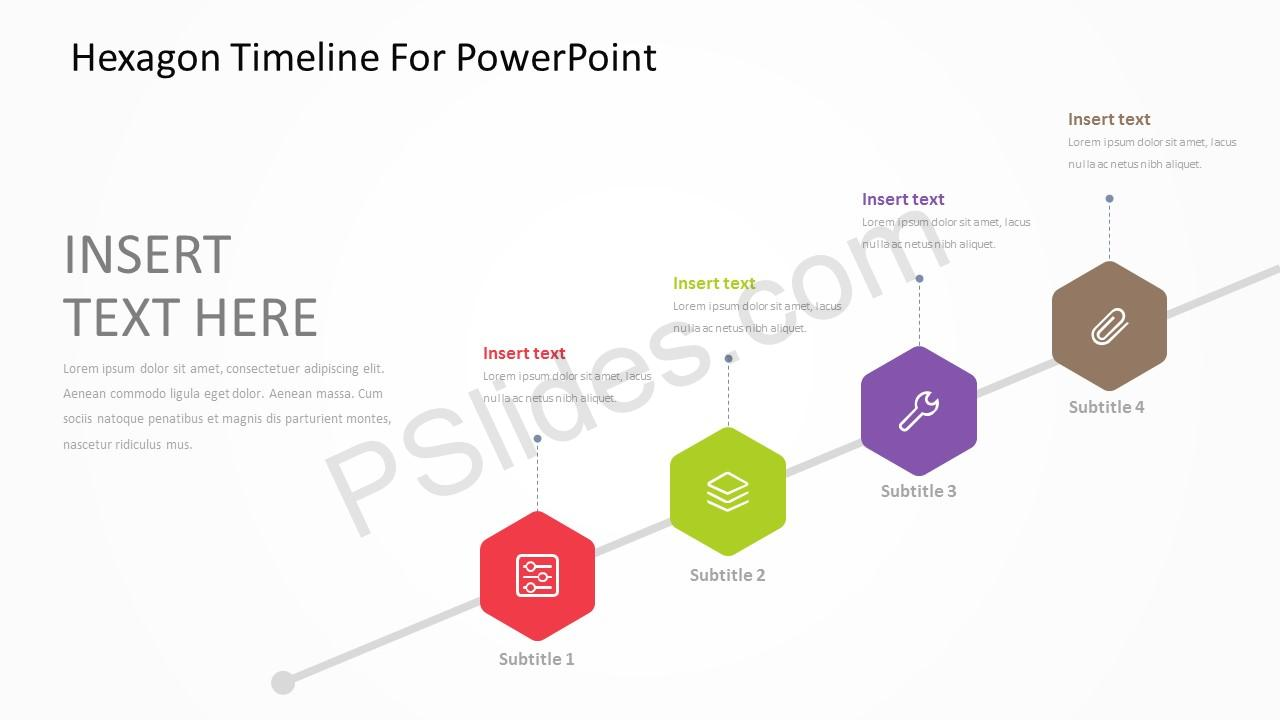 Hexagon Timeline For PowerPoint 4