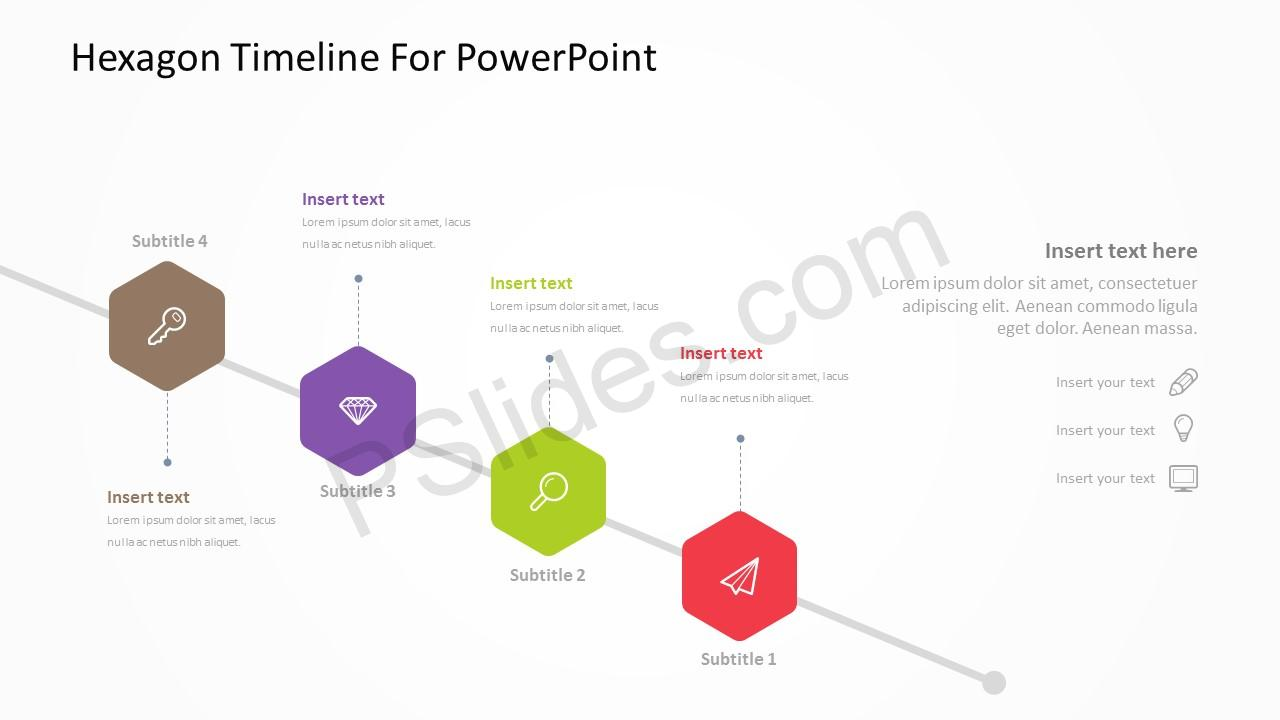 Hexagon Timeline For PowerPoint 5