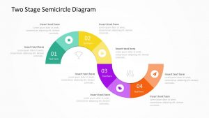 semicircle diagram powerpoint