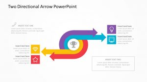 Two Directional Arrow PowerPoint slide 3