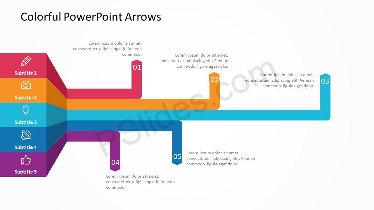 Arrow slide 3