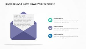 Envelopes And Notes PowerPoint Template