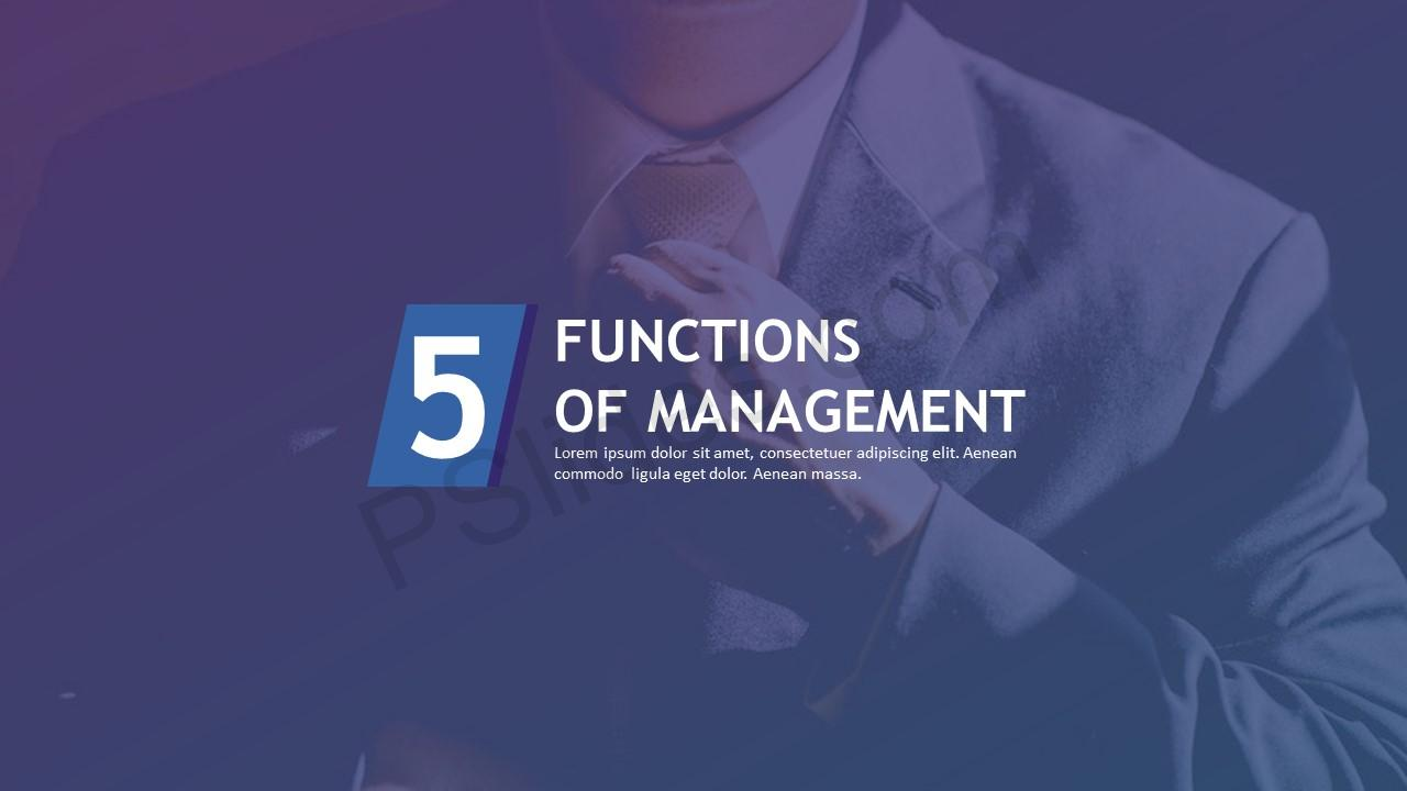 Five Functions of Management 1