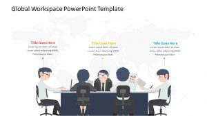 Global Workspace PowerPoint Template