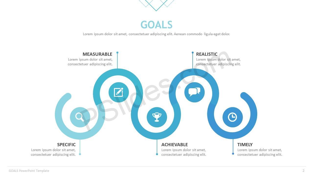 Goals Template Slide 2