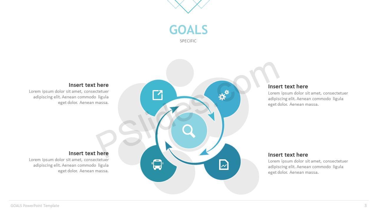 Goals Template Slide 3