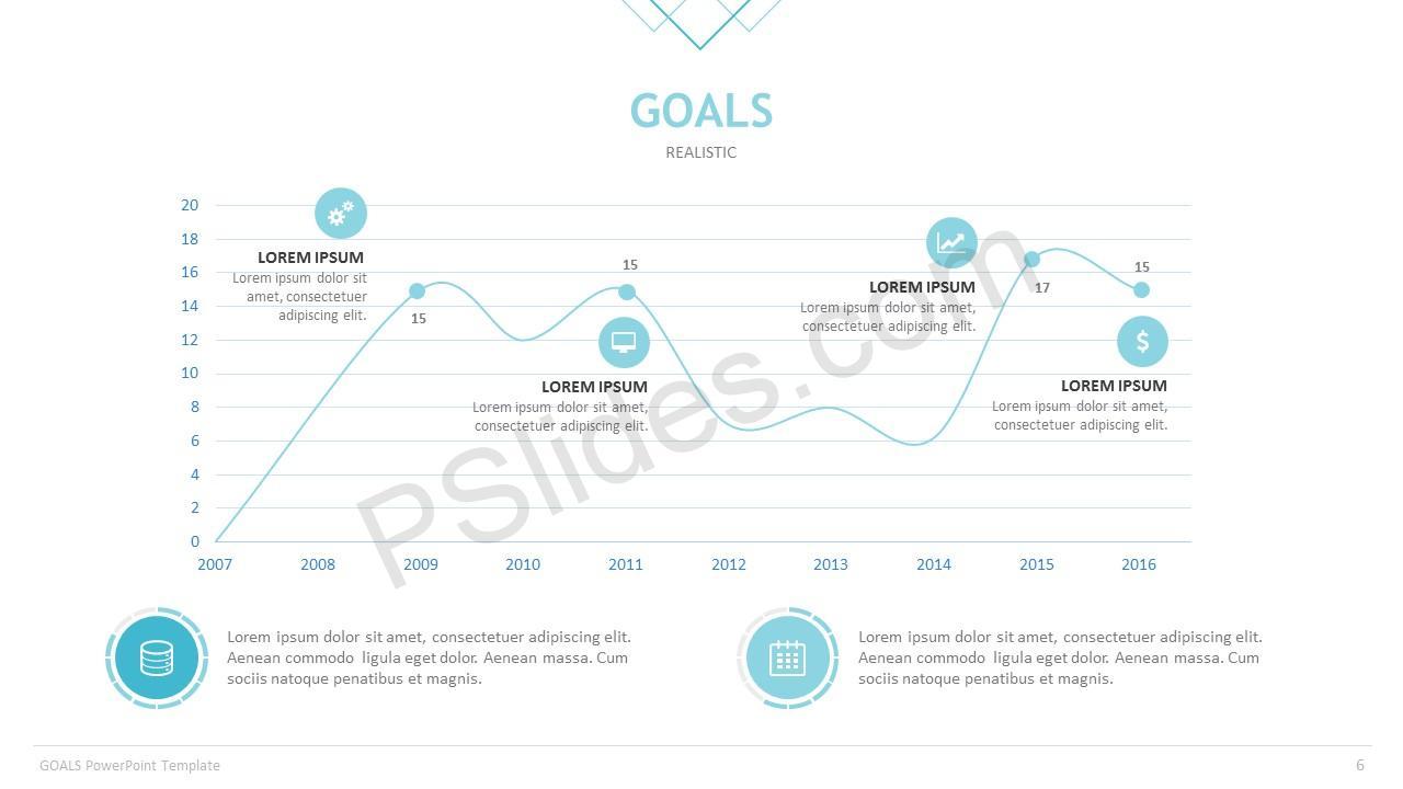 Goals Template Slide 6