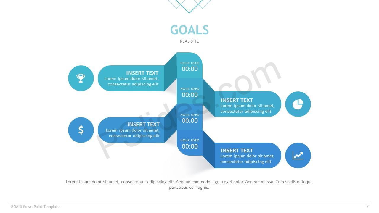 Goals Template Slide 7