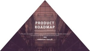 Product Roadmap PowerPoint Template