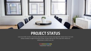 Project Status Template for PowerPoint