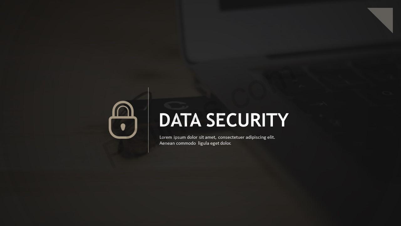 Data Security PowerPoint Template | PSlides