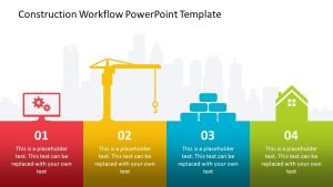 Construction Workflow PowerPoint Template