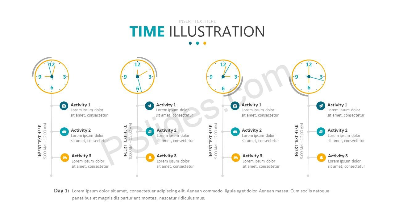 Time Illustration Slide 3