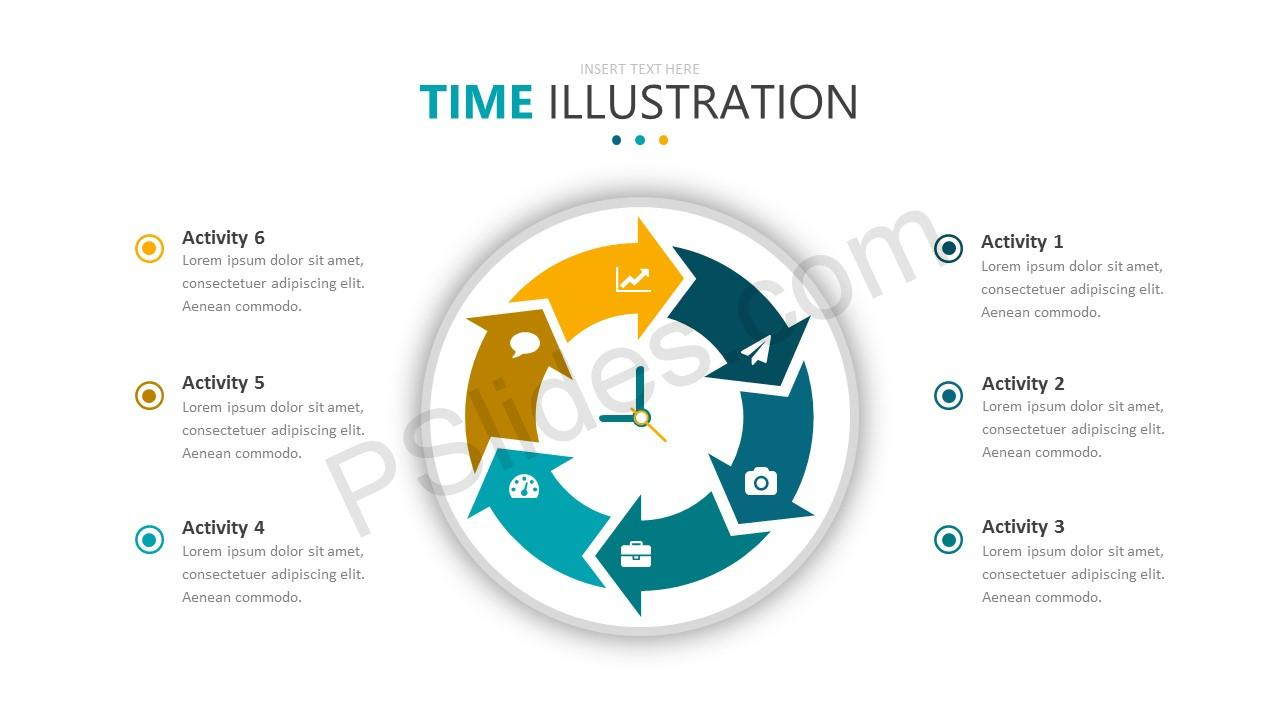 Time Illustration Slide 5