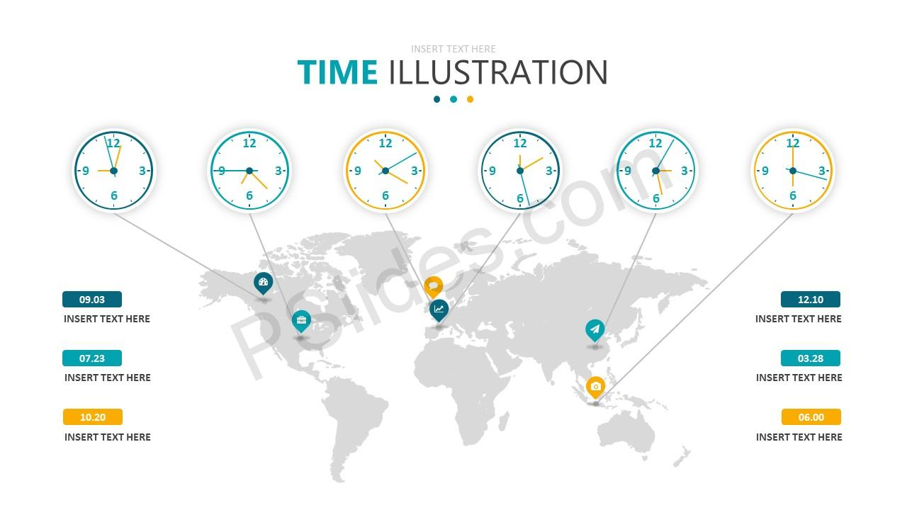 Time Illustration Slide 6