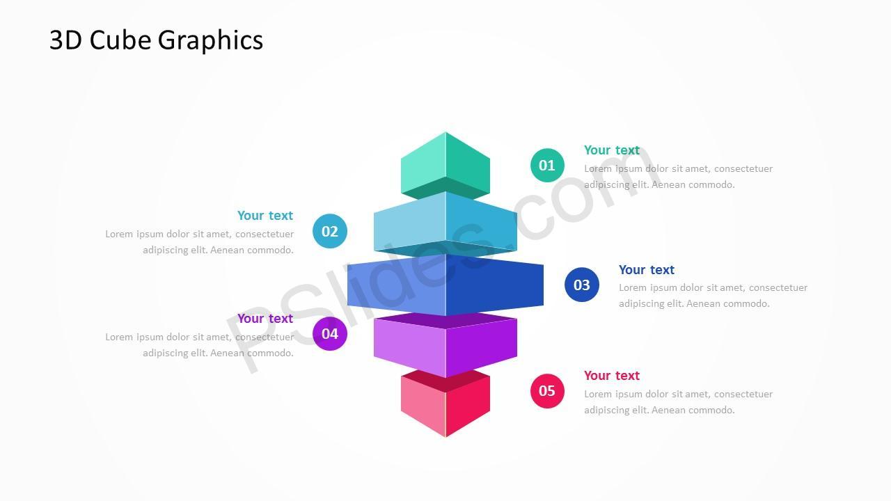 3D Cube Slide 4