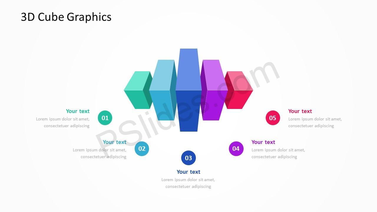 3D Cube Slide 5