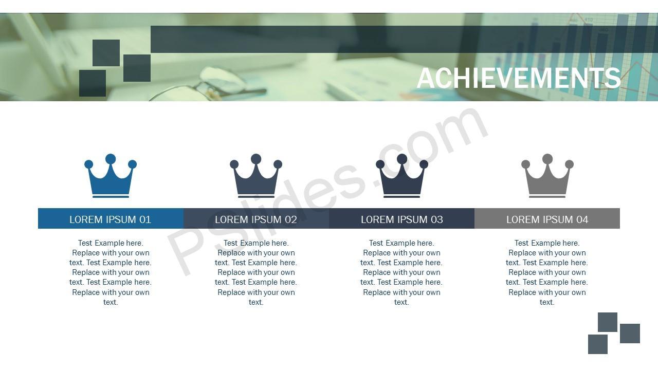 Company Achievements slide