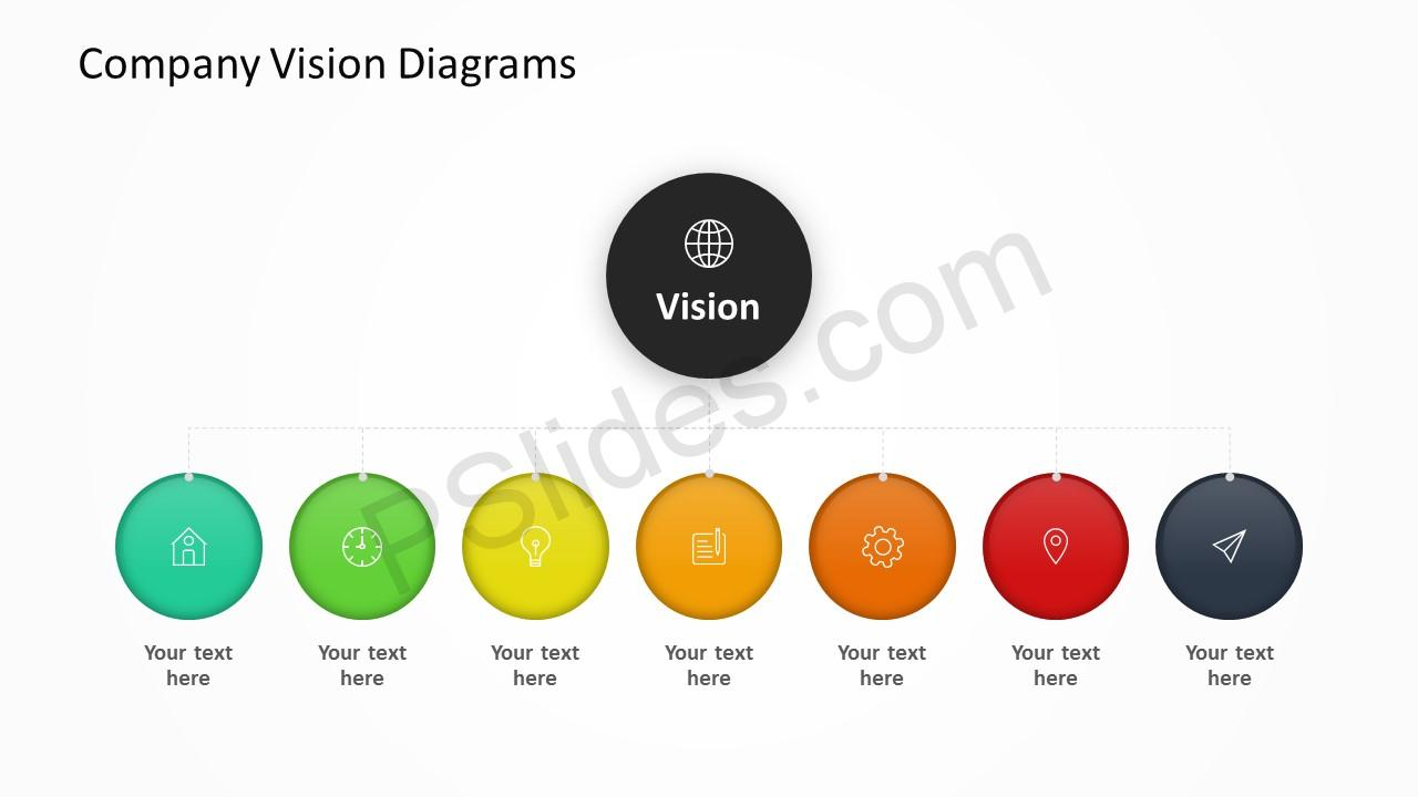 Company Vision Diagrams Slide 4