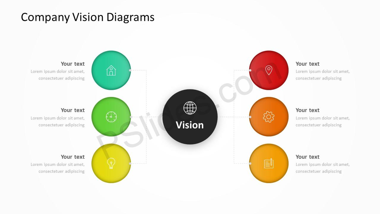 Company Vision Diagrams Slide 5