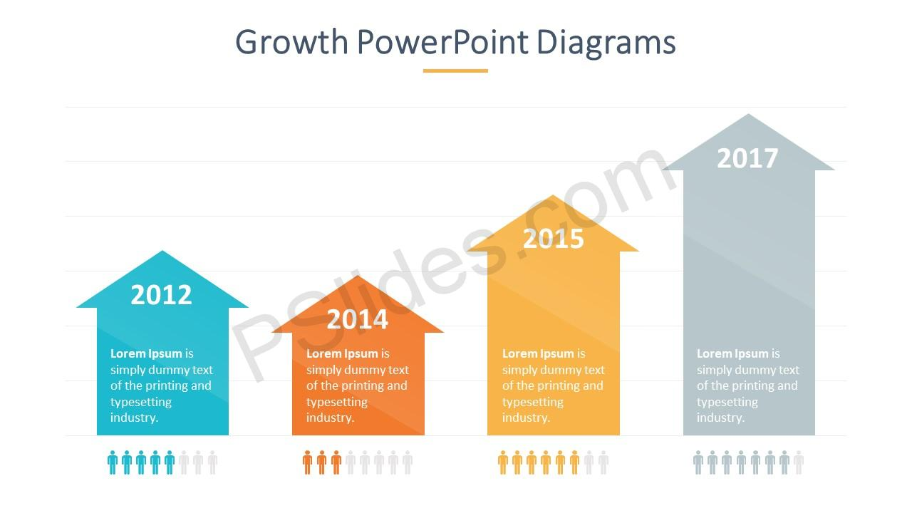 Growth Arrows Slide