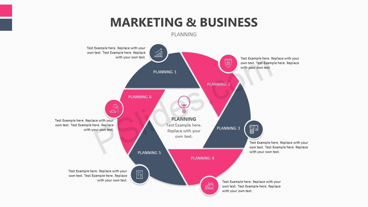 Marketing and business planning slide