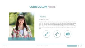 CV PowerPoint Template