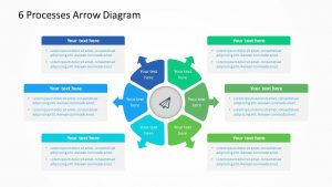 Free 6 Processes Arrow Diagram