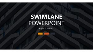 Swimlane Template for PowerPoint