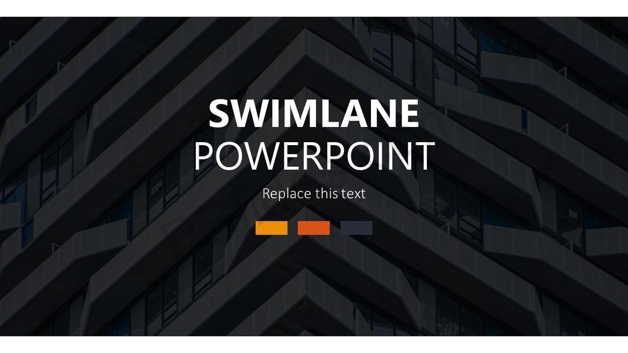 Swimlane Template for PowerPoint