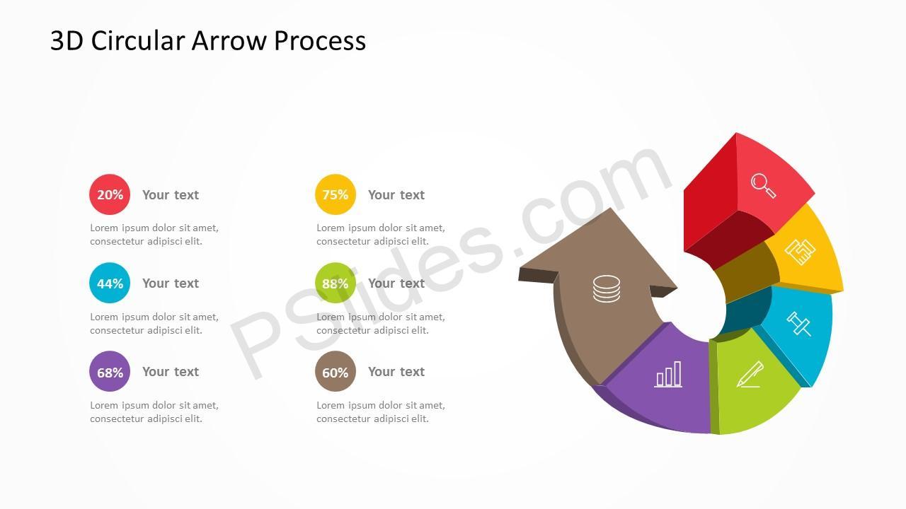 3D Arrow Slide 1