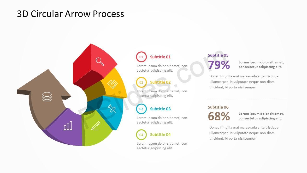 3D Arrow Slide 2