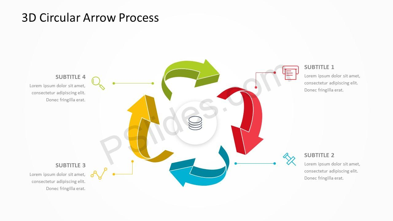 3D Arrow Slide 3