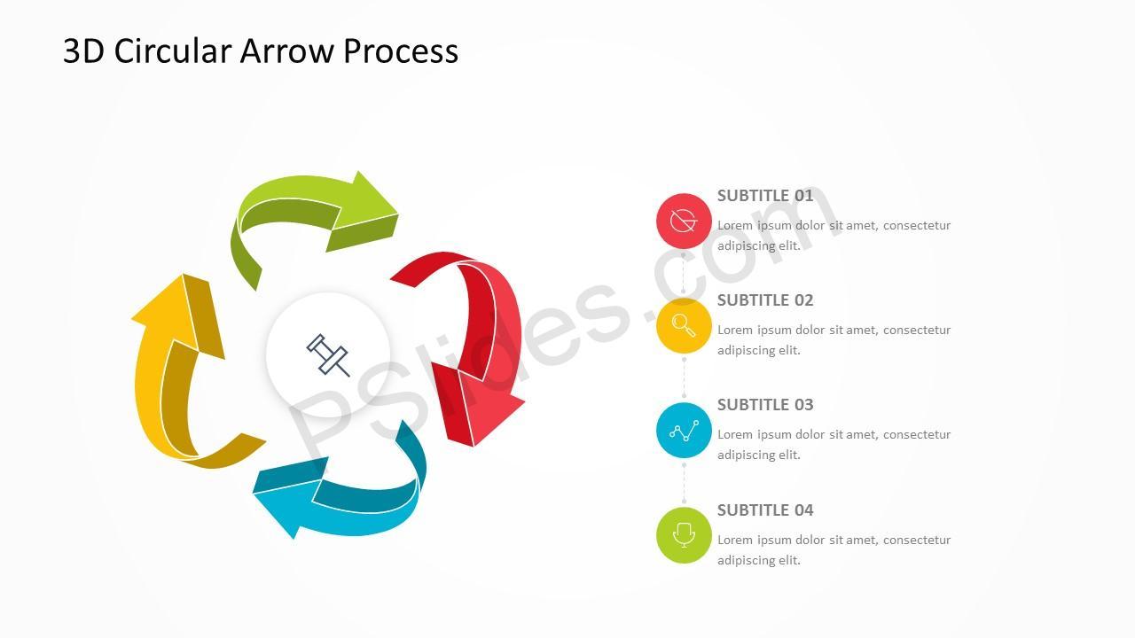 3D Arrow Slide 5