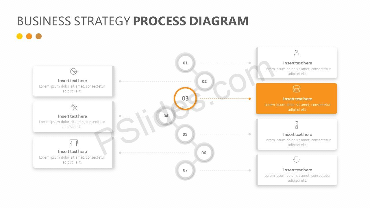 Business Strategy Process Diagram Slide 2