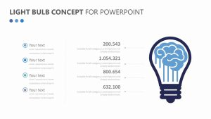 Light Bulb Concept Slide 2