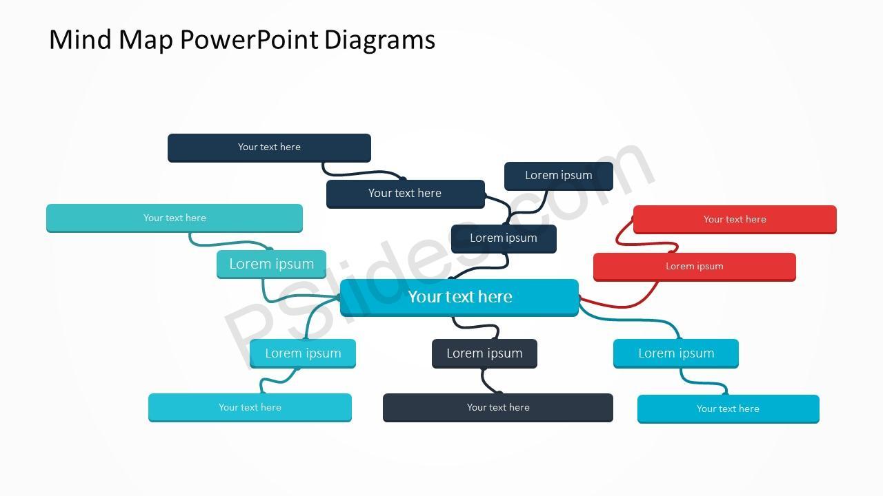 Mind Map Diagram Slide 2