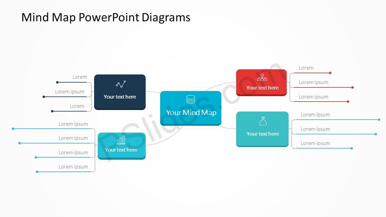 Mind Map Diagram Slide 3