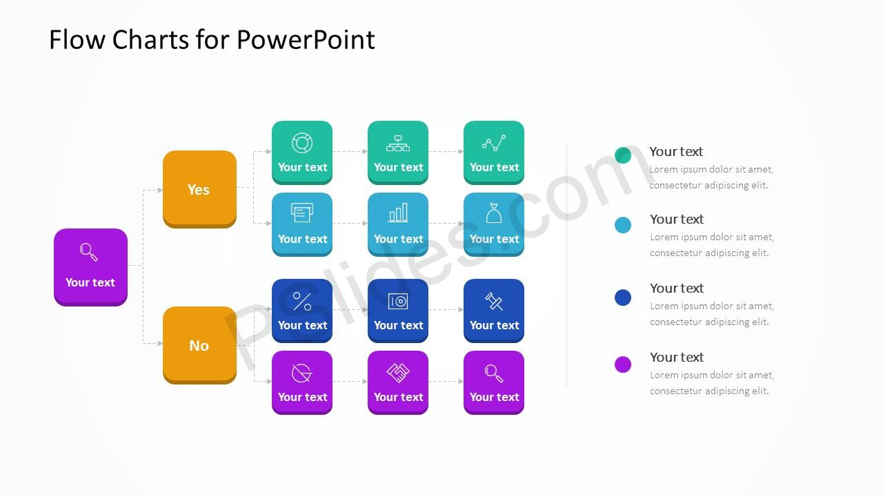 Flow Charts for PowerPoint Slide 2