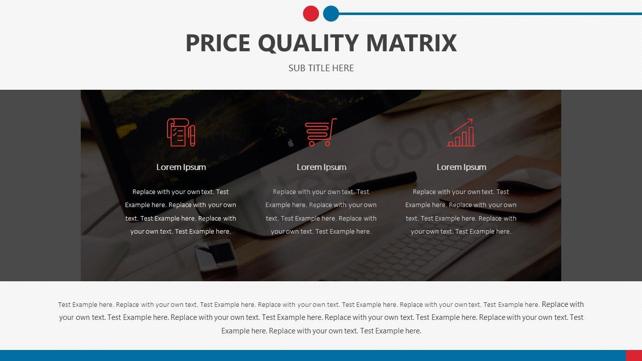 Price Quality Matrix for PowerPoint Slide2