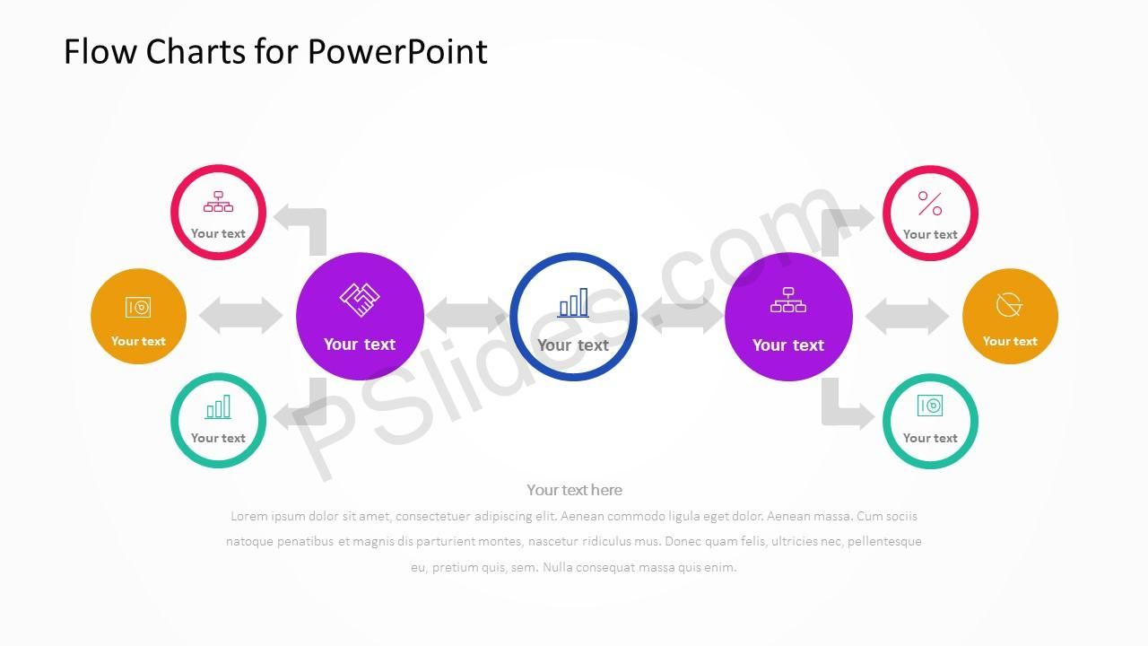 Flow Charts for PowerPoint Slide 3